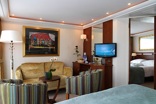 Suite cabin on AmaDante