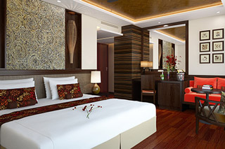 Suite cabin on Avalon Siem Reap