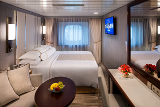 Oceanview cabin on Azamara Pursuit