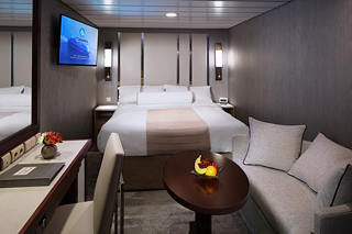 Inside cabin on Azamara Pursuit
