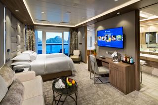 Suite cabin on Azamara Pursuit