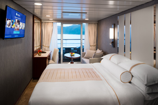 Balcony cabin on Azamara Pursuit