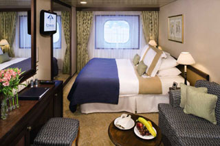 Club Oceanview Stateroom (Obstructed View) on Azamara Journey