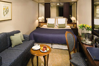 Inside cabin on Azamara Journey