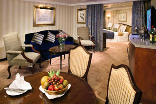 Suite cabin on Azamara Journey