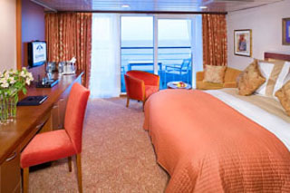Club Continent Suite on Azamara Quest