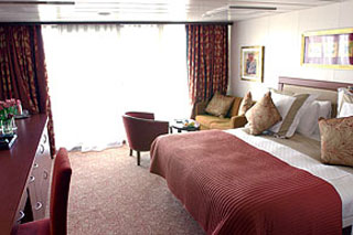 Club Deluxe Veranda Stateroom on Azamara Quest