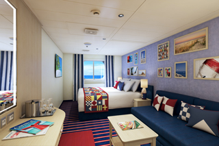 Family Harbor Deluxe Oceanview on Carnival Horizon