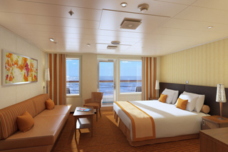 Ocean Suite on Carnival Horizon
