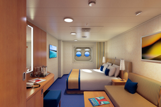Porthole Stateroom on Carnival Horizon