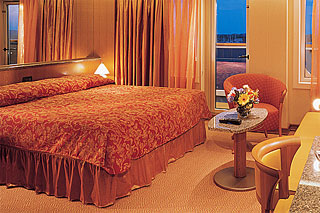 Suite cabin on Carnival Victory