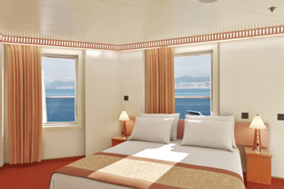 Balcony cabin on Carnival Victory