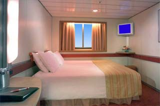 Oceanview cabin on Carnival Fascination