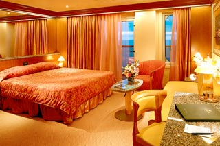 Suite cabin on Carnival Liberty