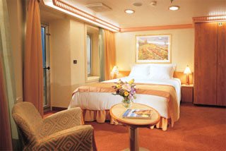 Balcony cabin on Carnival Conquest