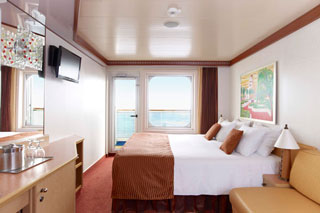 Balcony cabin on Carnival Dream