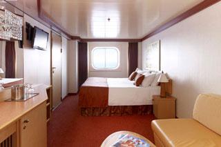 Oceanview cabin on Carnival Magic
