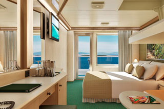 Balcony cabin on Carnival Magic