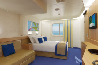 Oceanview cabin on Carnival Sunshine