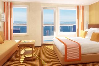 Suite cabin on Carnival Vista