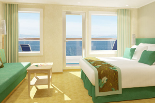 Cloud 9 Spa Suite on Carnival Vista