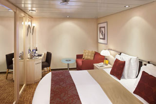 Inside cabin on Celebrity Constellation