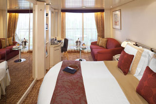 Balcony cabin on Celebrity Constellation
