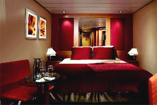 Interior Stateroom on Celebrity Century