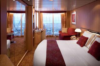 Balcony cabin on Celebrity Infinity