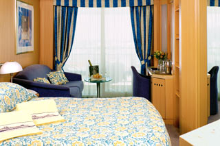 Balcony cabin on Celebrity Infinity