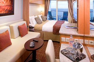 Balcony cabin on Celebrity Summit