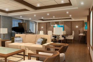 Suite cabin on Celebrity Eclipse