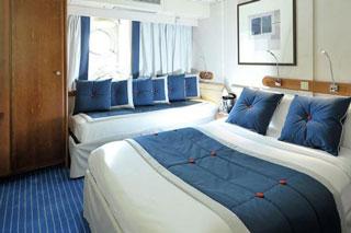 Oceanview cabin on Le Ponant