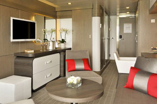 Suite cabin on Le Boreal