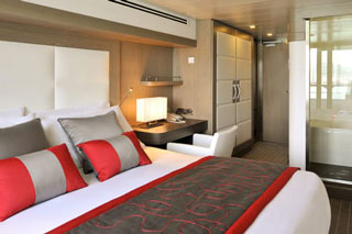 Balcony cabin on L'Austral 835