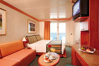 Balcony cabin on Costa Mediterranea