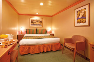 Classic Interior Stateroom on Costa Mediterranea