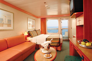 Balcony cabin on Costa Magica