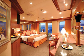 Suite cabin on Costa Magica