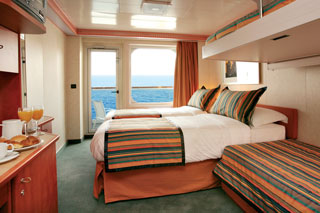 Premium Balcony Stateroom on Costa Serena