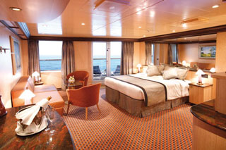 Suite cabin on Costa Luminosa