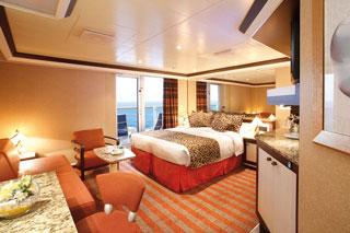 Suite cabin on Costa Luminosa