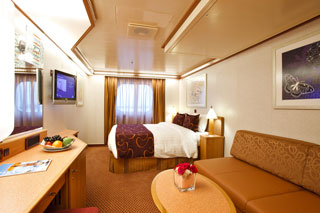 Premium Oceanview Stateroom on Costa Deliziosa