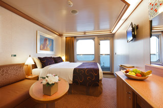 Classic Balcony Stateroom on Costa Favolosa