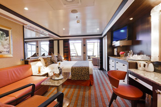 Suite cabin on Costa Favolosa