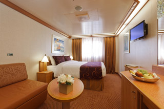 Classic Oceanview Stateroom on Costa Fascinosa