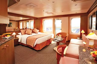 Suite cabin on Costa Fascinosa