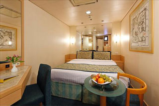 Classic Interior Stateroom on Costa Voyager