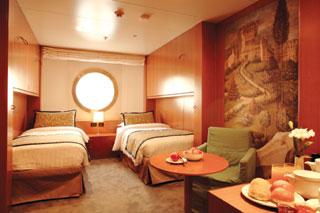 Oceanview cabin on Costa neoRomantica