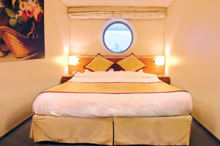 Classic Oceanview Stateroom on Costa Victoria